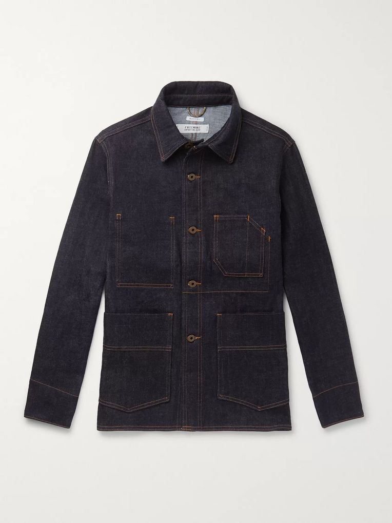 Freemans Sporting Club Denim Chore Jacket