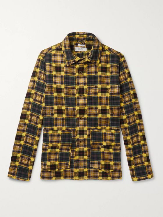 Freemans Sporting Club Checked Cotton-Flannel Chore Jacket