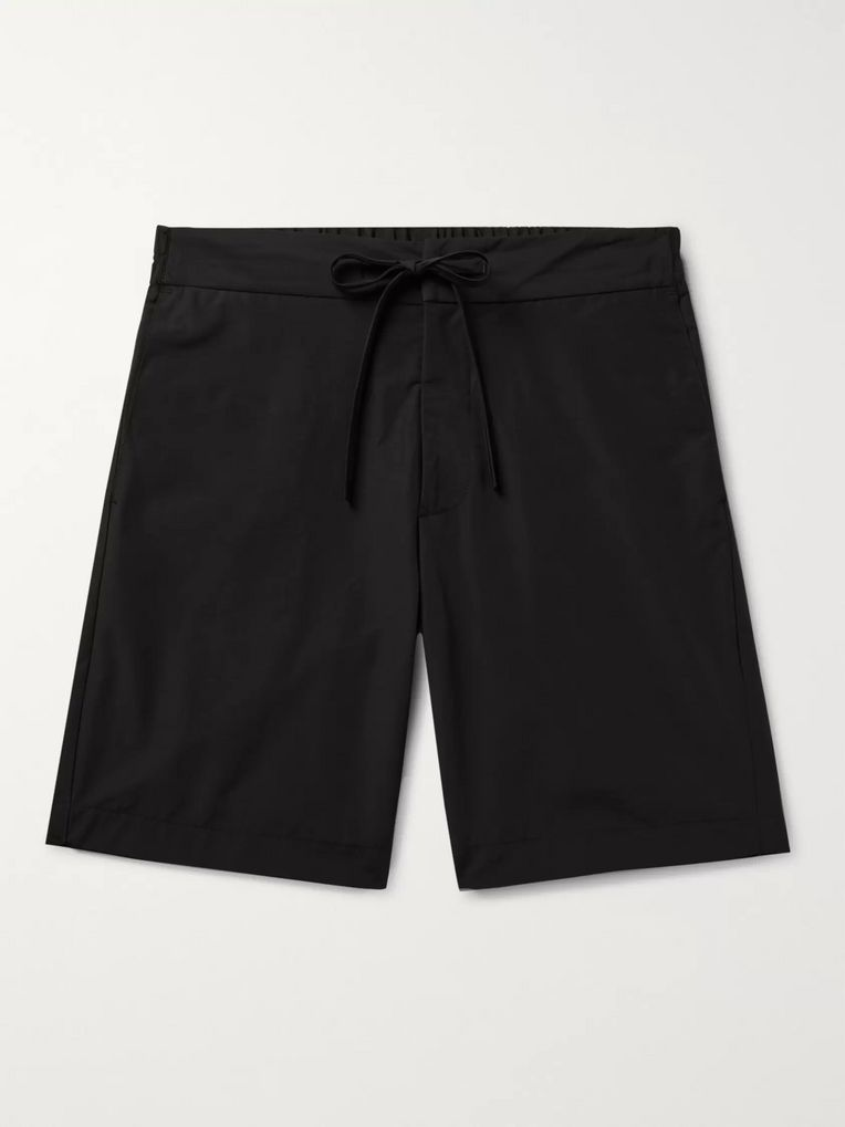 Freemans Sporting Club Slim-Fit Cotton and Nylon-Blend Drawstring Shorts