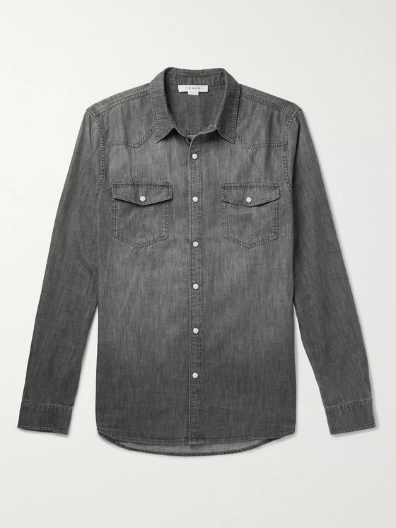 FRAME Denim Western Shirt