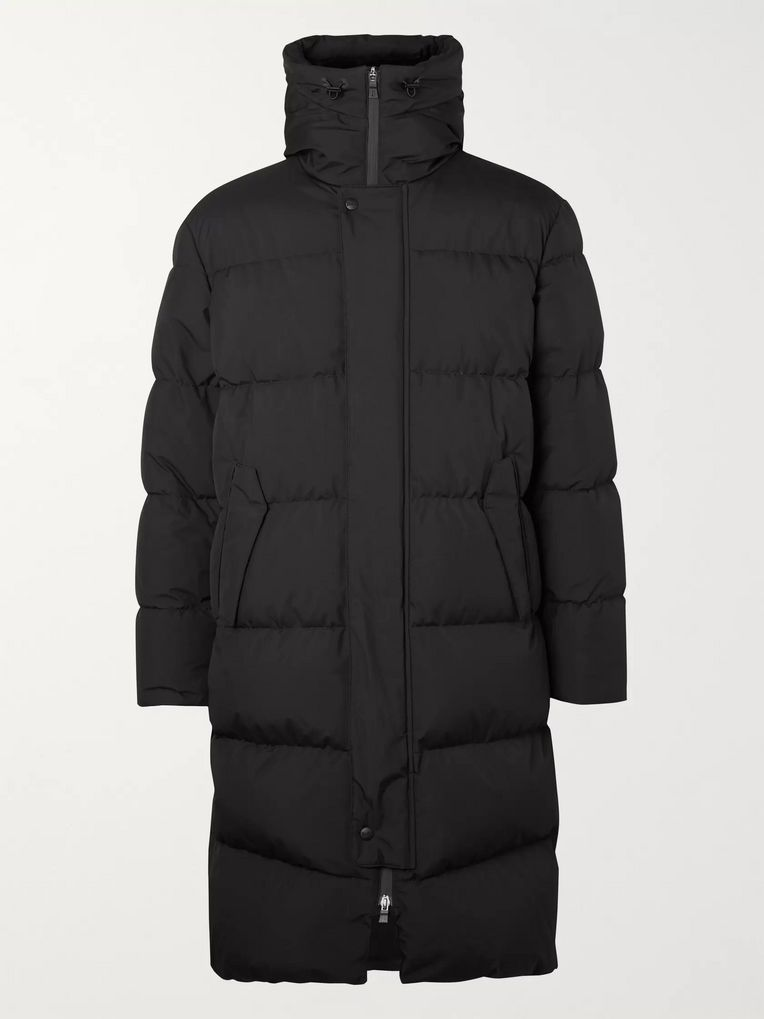 Herno Laminar Quilted GORE-TEX INFINIUM Hooded Down Jacket