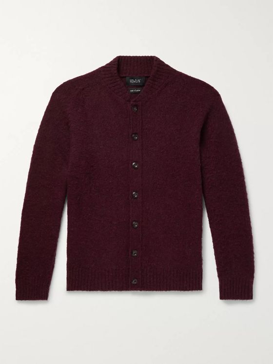 Howlin' Four Eyes Brushed Virgin Wool Cardigan
