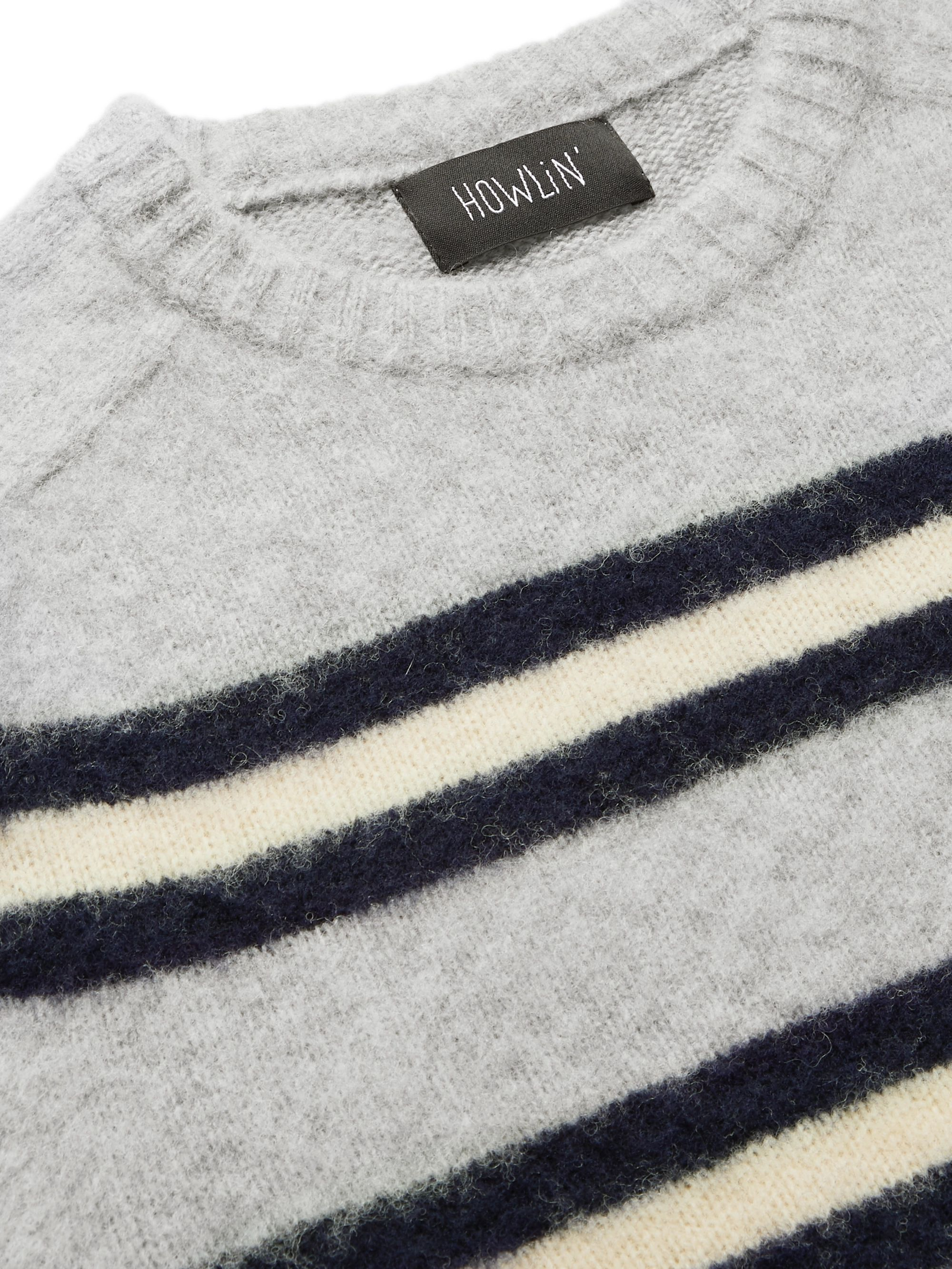 Howlin' Isle of Magic Striped Brushed-Wool Sweater