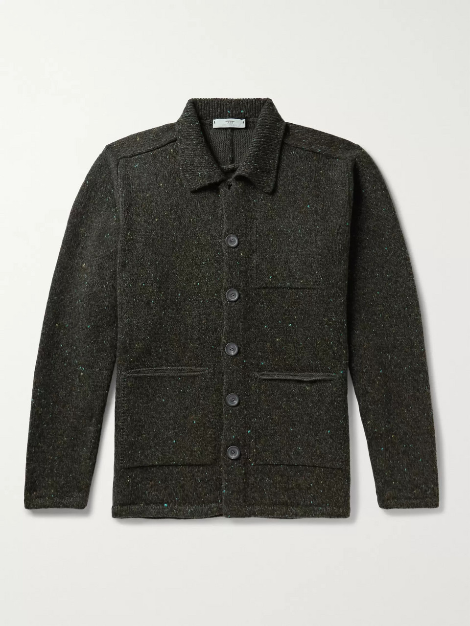 Inis Meáin Donegal Merino Wool Jacket