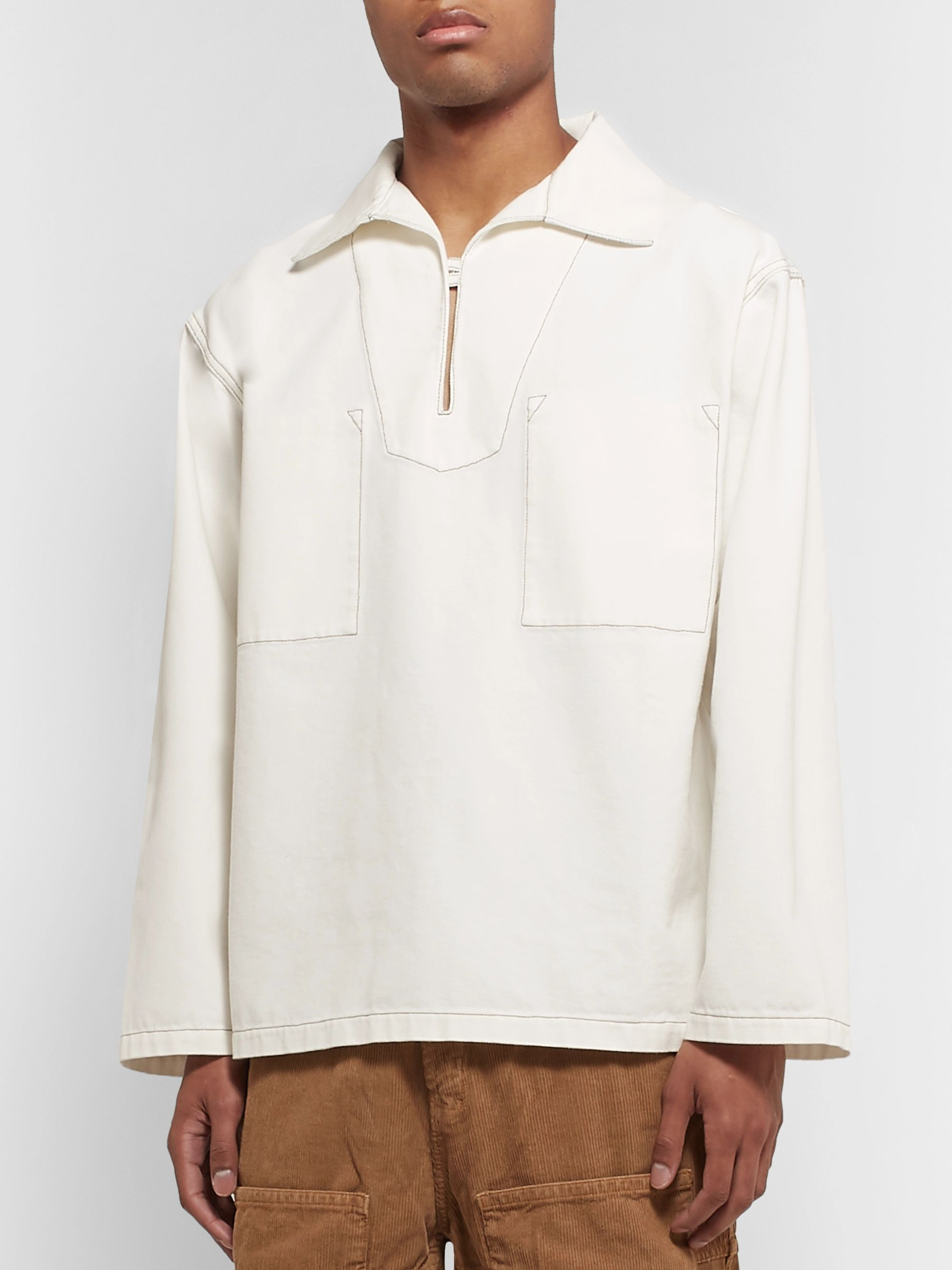 Jacquemus Le Marin Cotton-Canvas Shirt