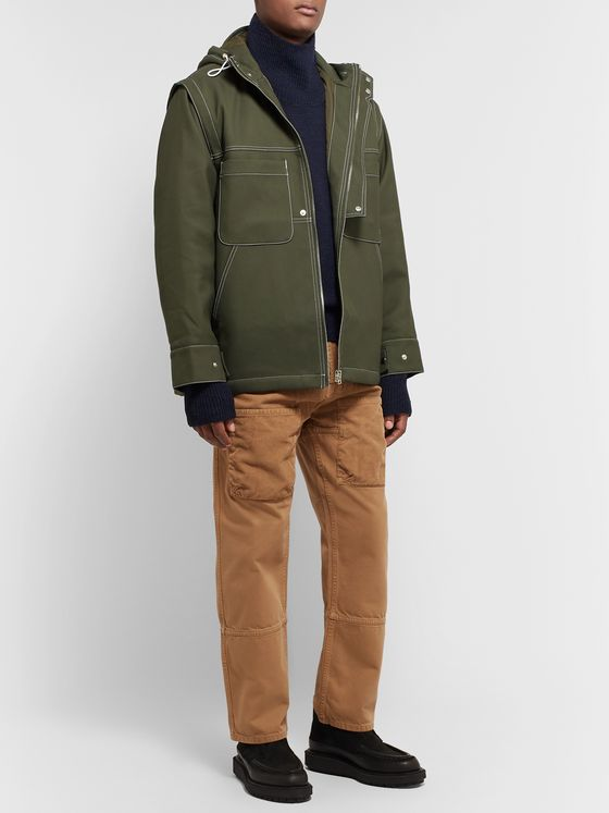 Jacquemus Canvas Hooded Jacket