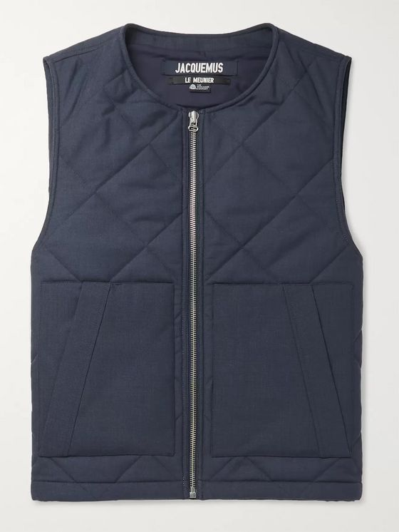 Jacquemus Romarin Quilted Padded Wool Gilet
