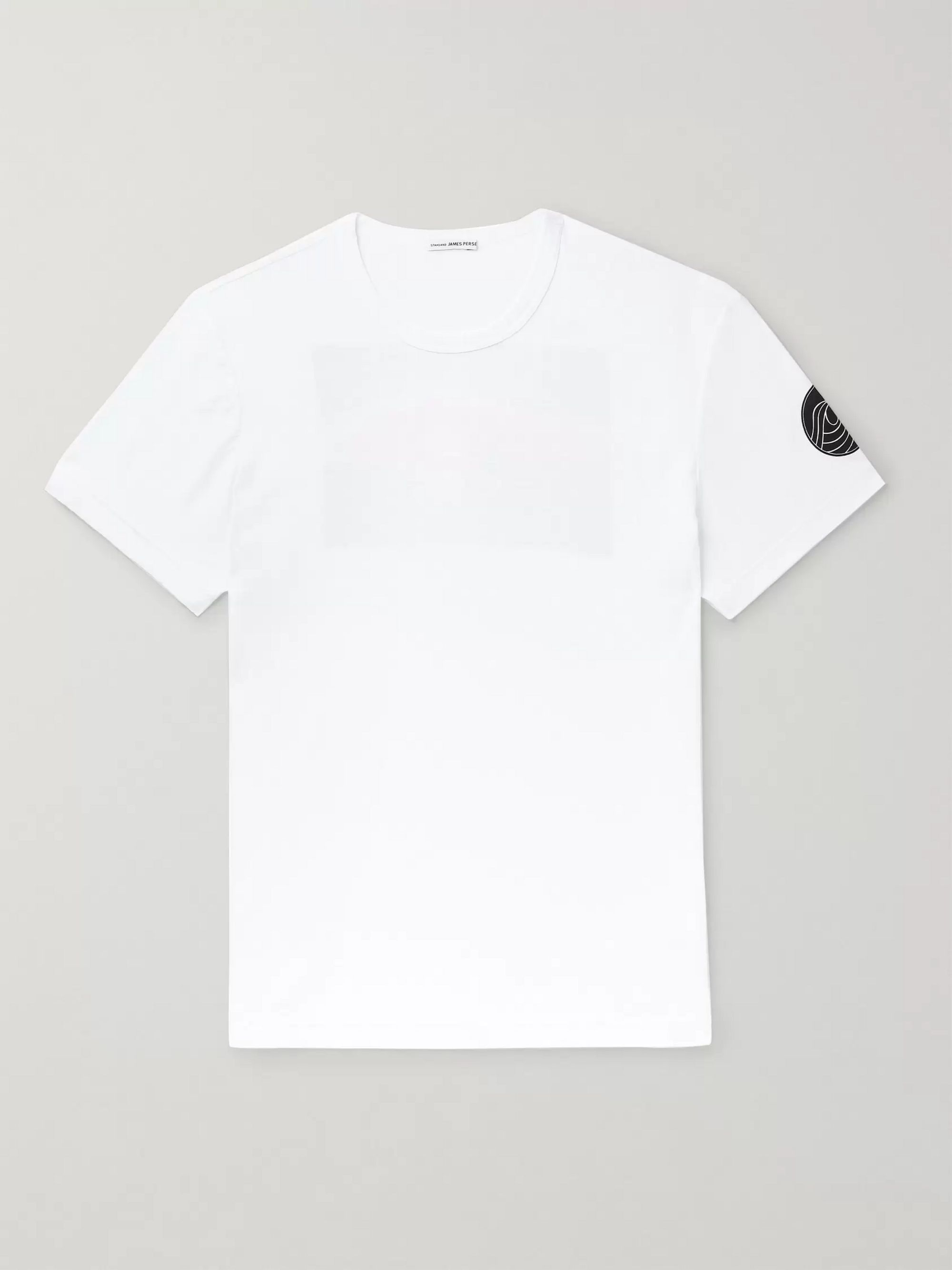 James Perse Slim-Fit Printed Cotton-Jersey T-Shirt