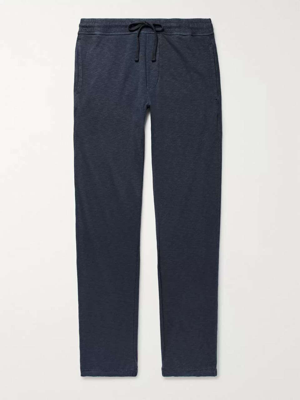 James Perse Mélange Loopback Cotton-Jersey Sweatpants