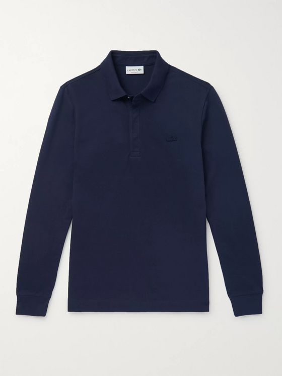 Lacoste Paris Stretch-Cotton Piqué Polo Shirt