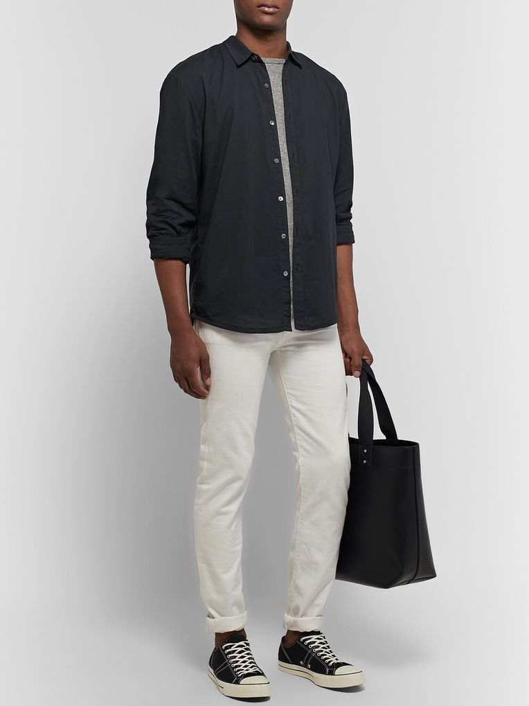 James Perse Garment-Dyed Cotton Shirt