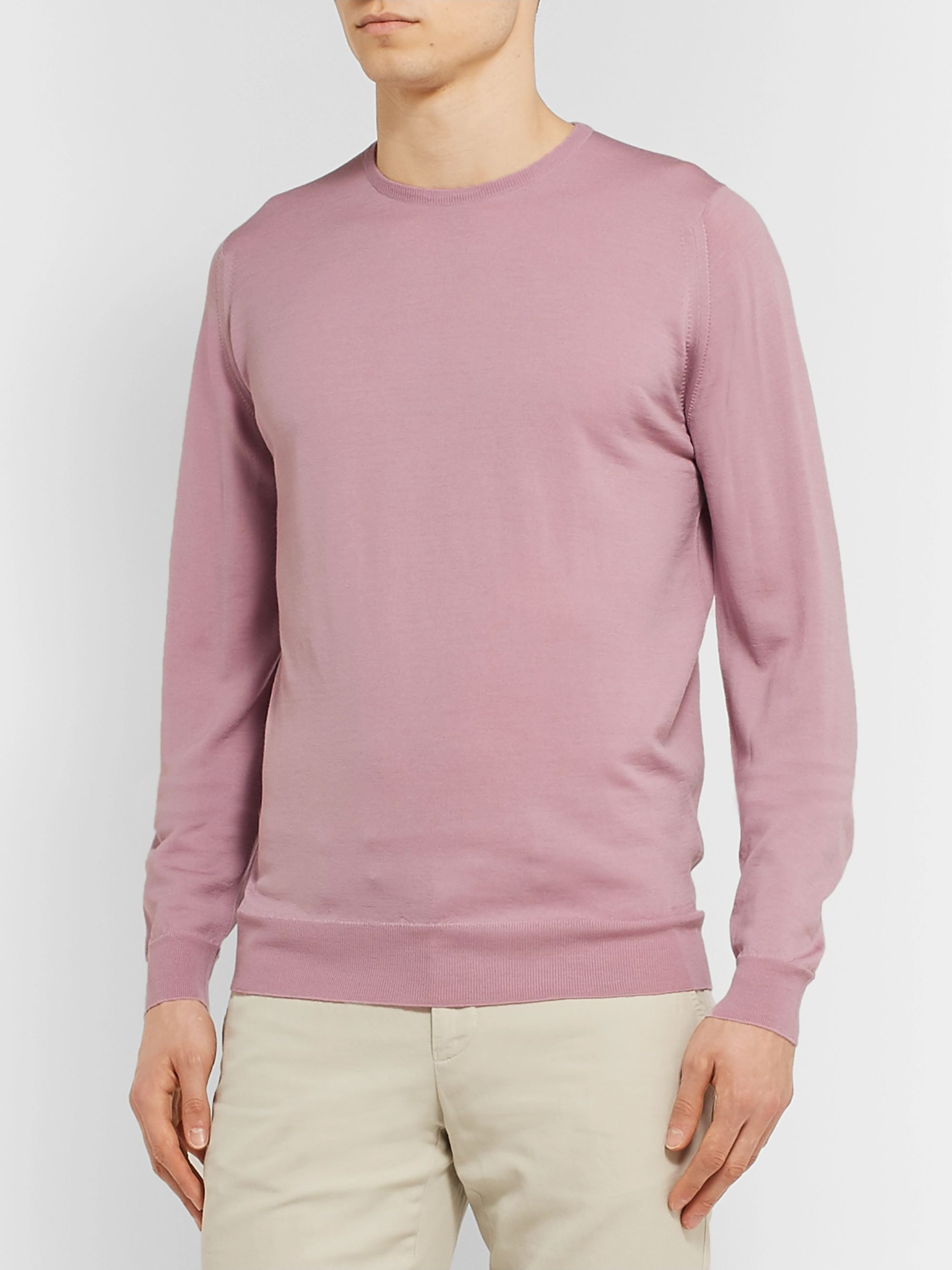John Smedley Virgin Wool Sweater