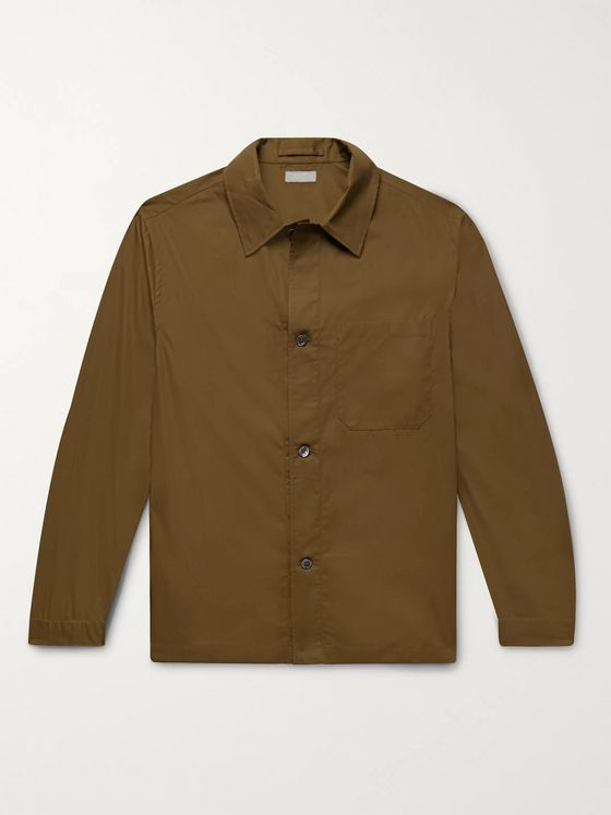 Margaret Howell Cotton-Poplin Overshirt