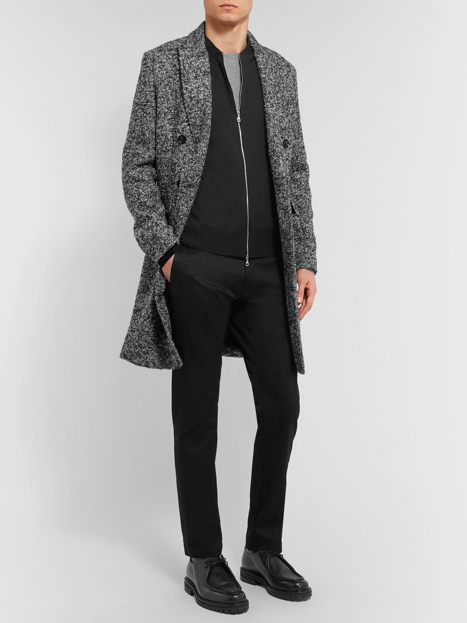 John Smedley Slim-Fit Merino Wool Zip-Up Cardigan
