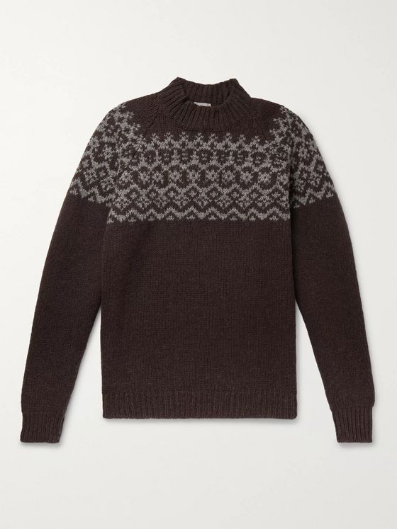 Margaret Howell Fair Isle Wool Sweater