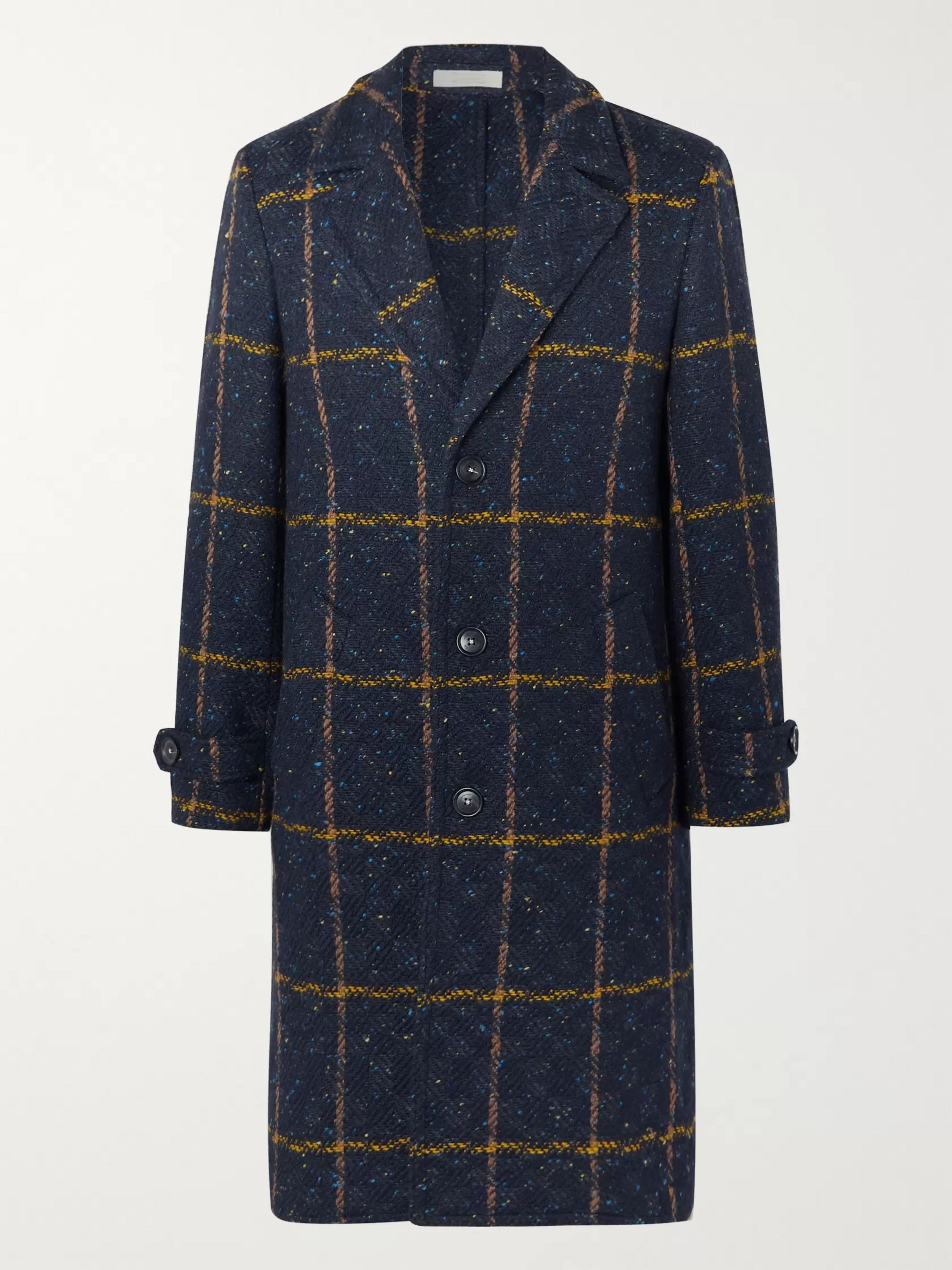 Massimo Alba Checked Wool Coat