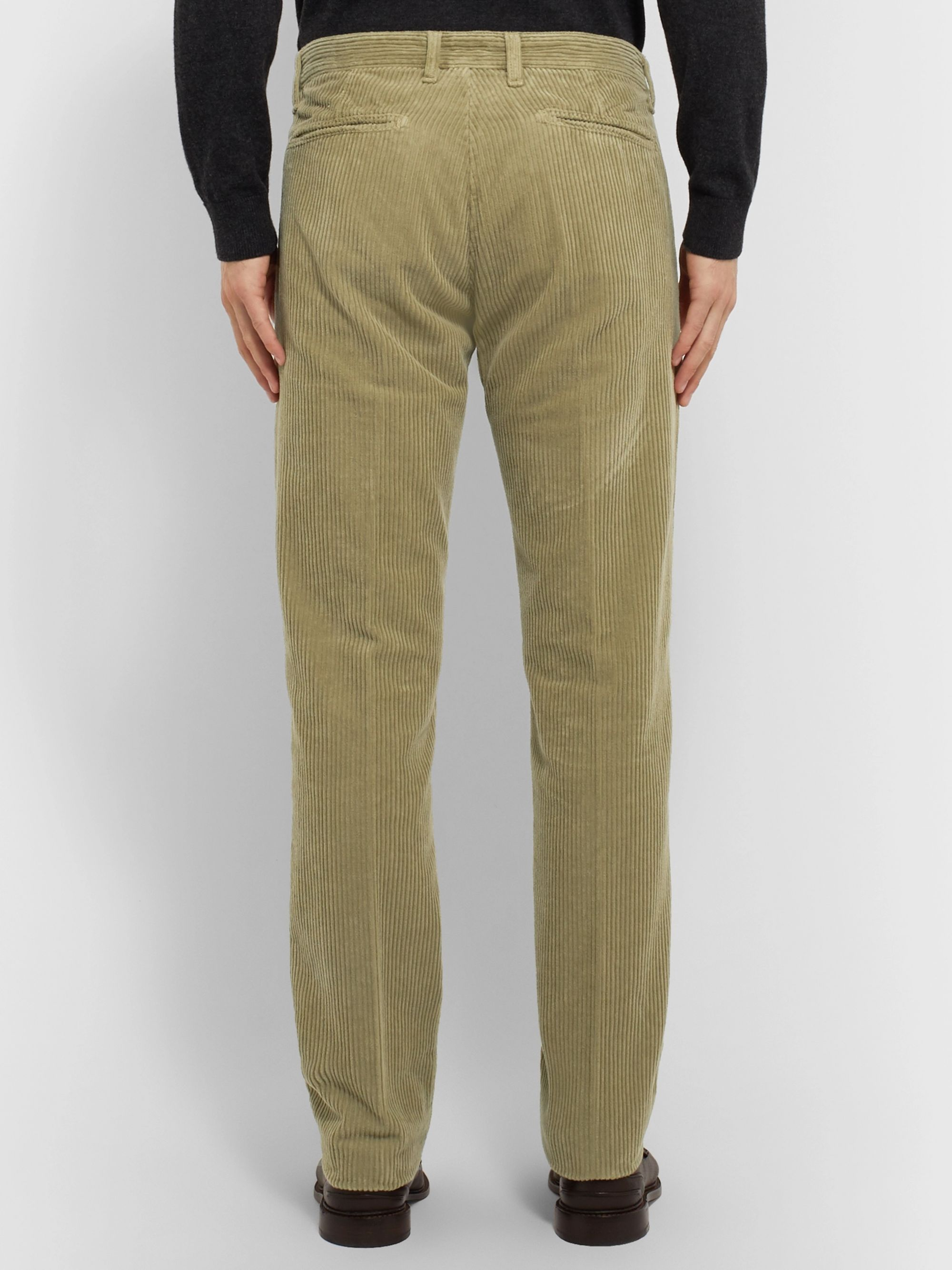 Massimo Alba Cotton-Corduroy Trousers