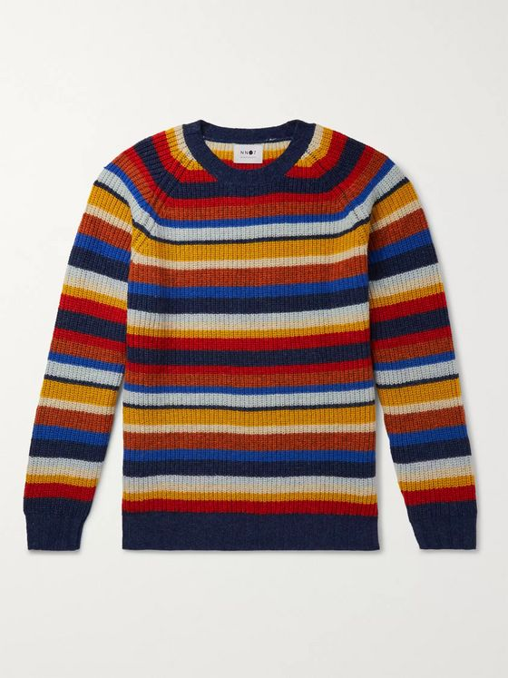 NN07 Striped Wool Sweater