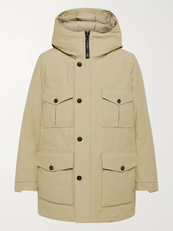 NN07 Jonah Cotton and Nylon-Blend Hooded Parka