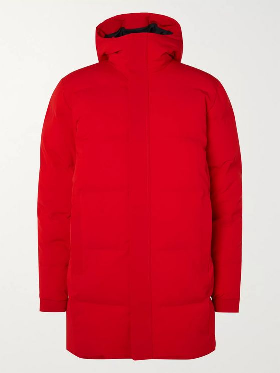 NN07 Quilted Shell Hooded Down Jacket