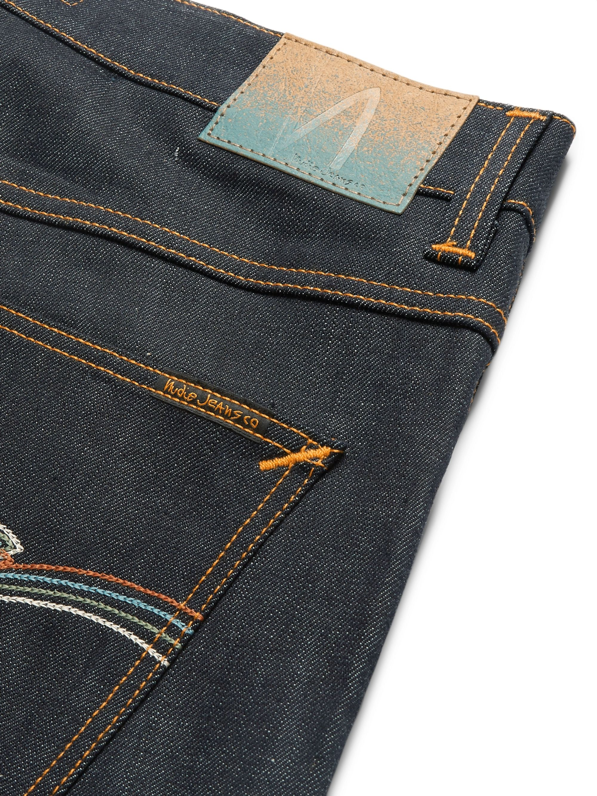Nudie Jeans Lean Dean Slim-Fit Organic Denim Jeans
