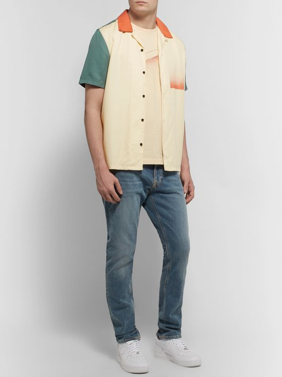 Nudie Jeans Roy Printed Cotton-Jersey T-Shirt