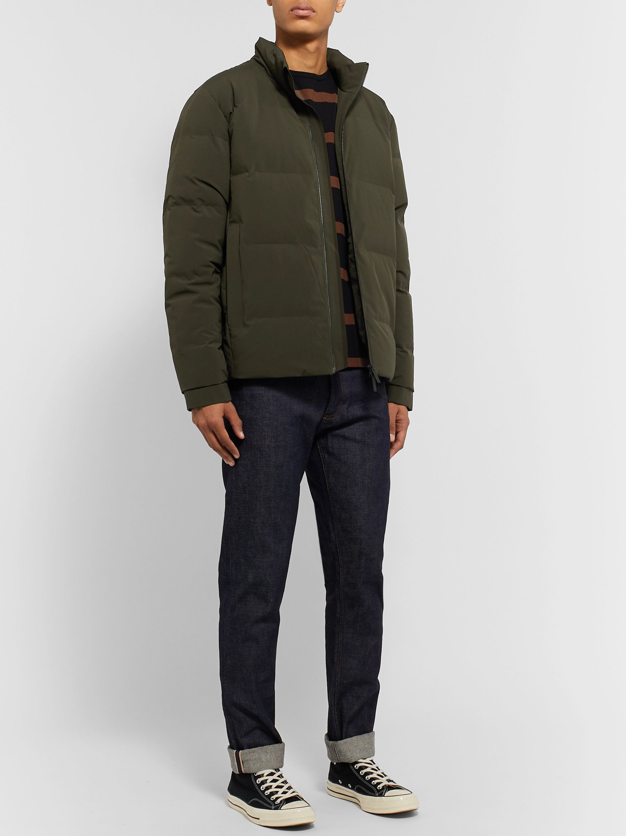 NN07 Quilted Shell Down Jacket