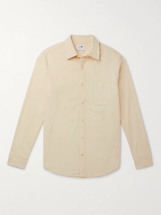 NN07 Brushed-Cotton Oxford Shirt