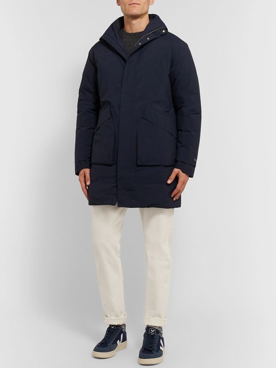 NN07 GORE-TEX Hooded Down Jacket