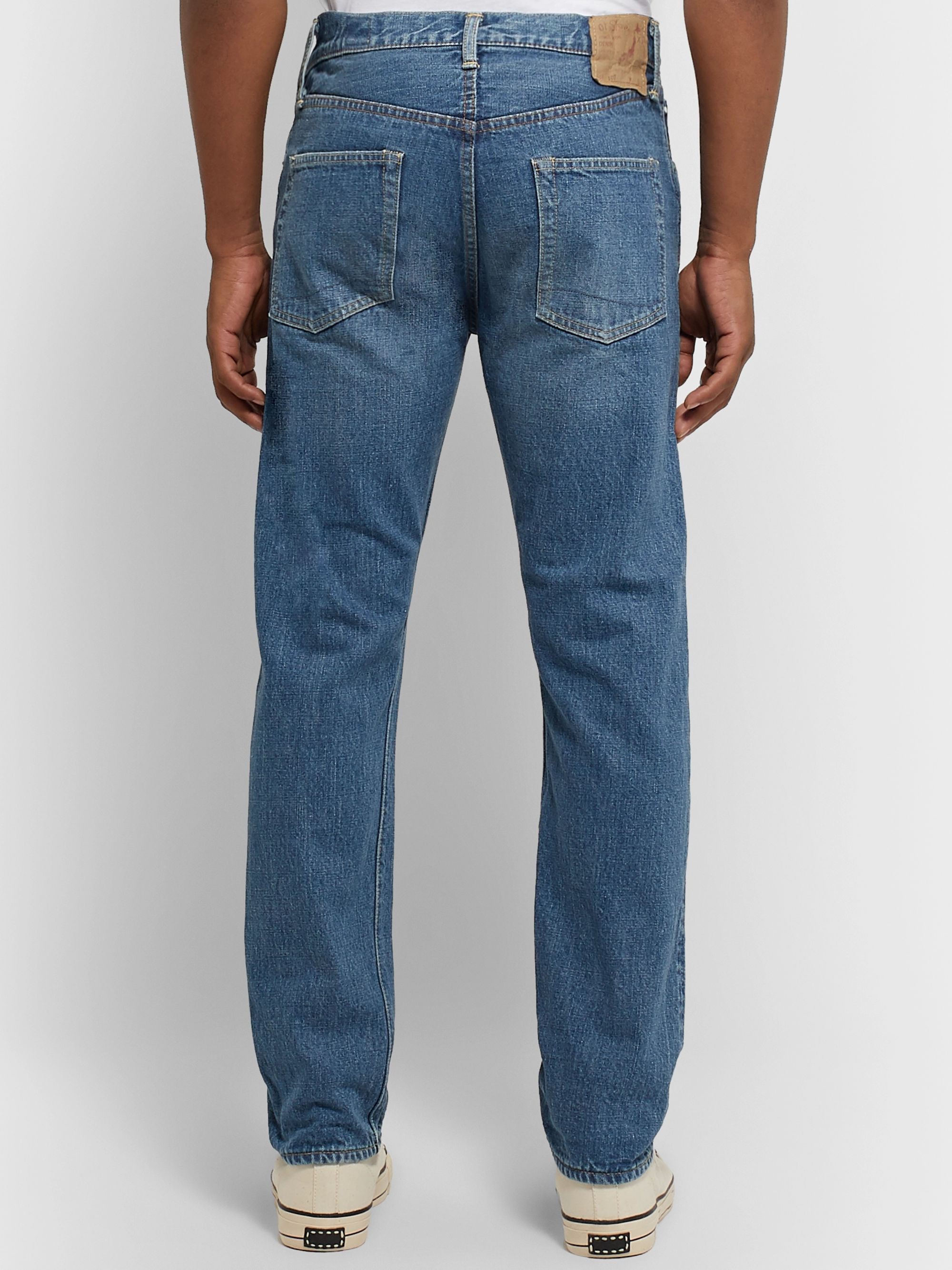 OrSlow Original 107 Slim-Fit Selvedge Denim Jeans