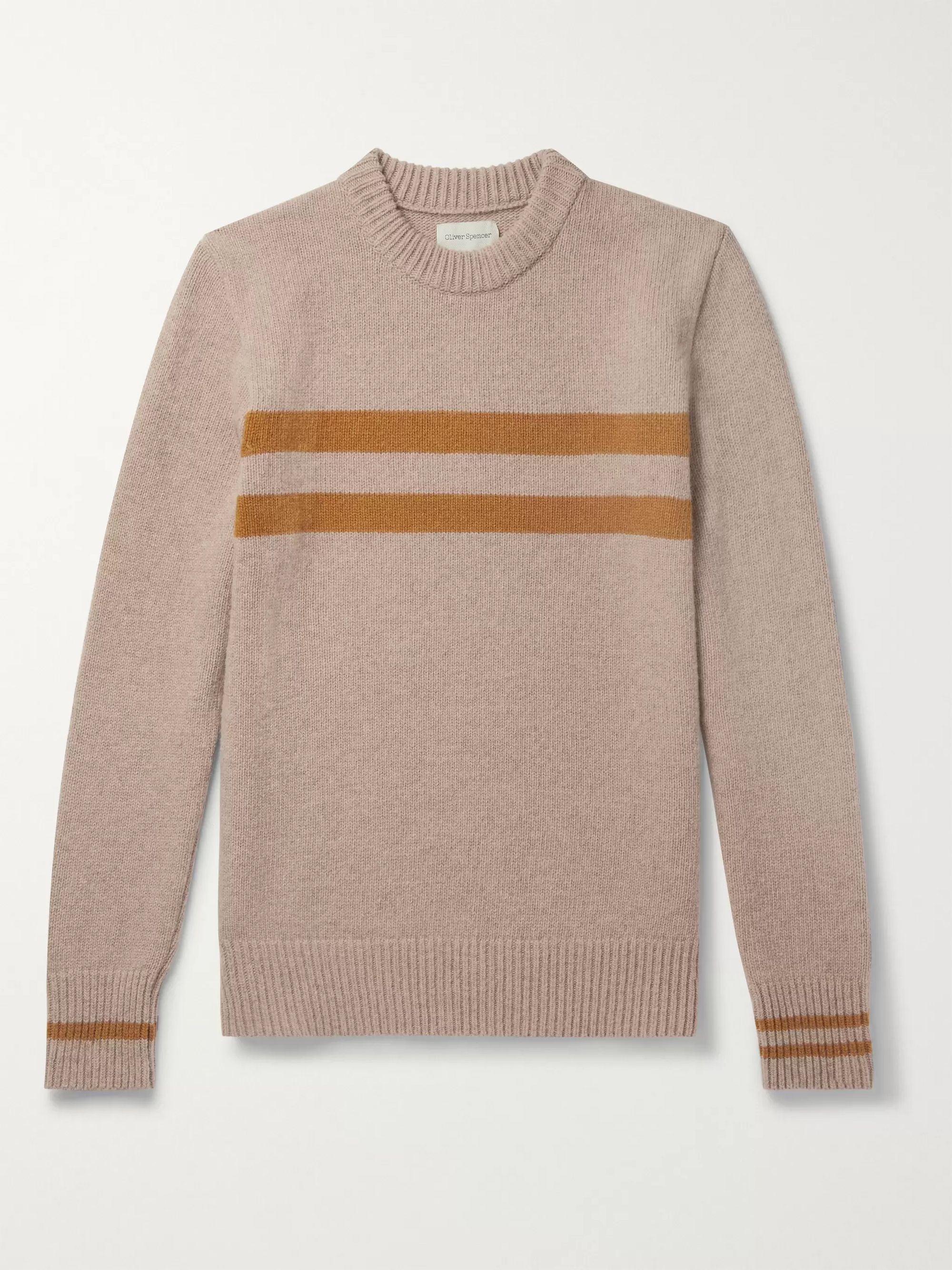 Striped Wool Sweater by Oliver Spencer