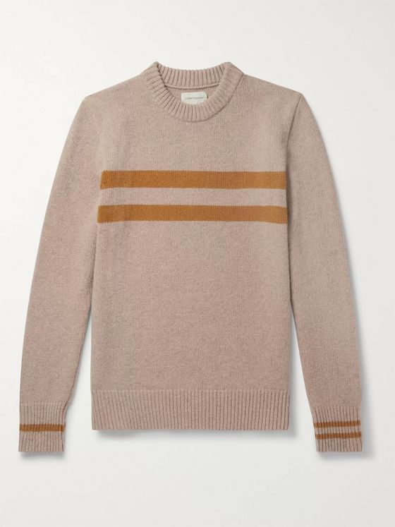 Oliver Spencer Striped Wool Sweater
