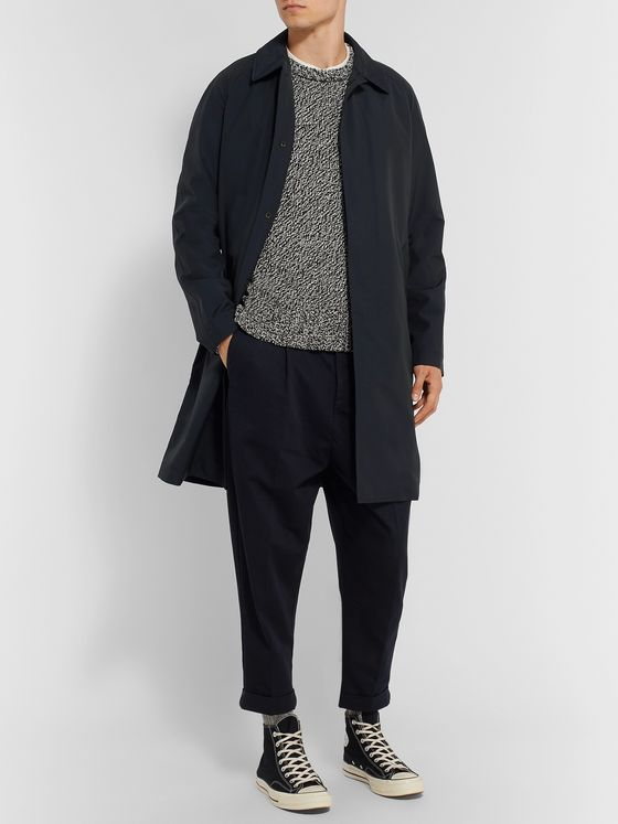 Private White V.C. + Woolmark Storm System Wool-Blend Shell Coat