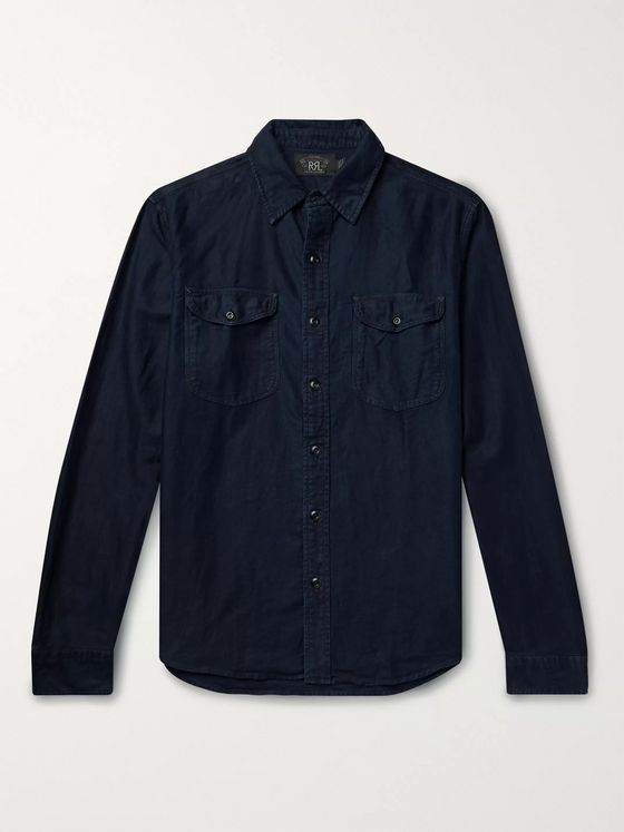 RRL Cotton and Linen-Blend Shirt