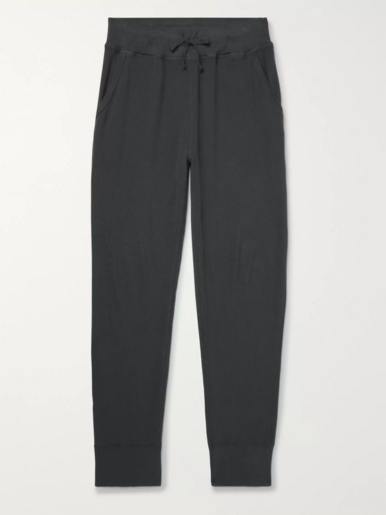 Save Khaki United Tapered Cotton-Jersey Sweatpants