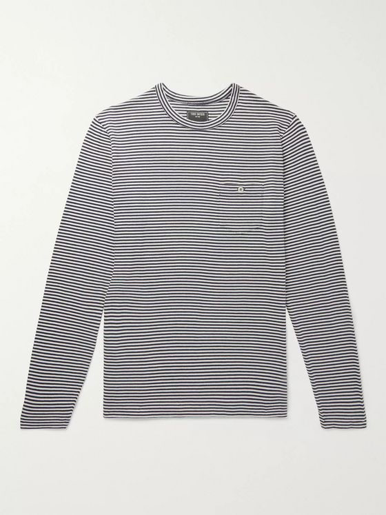 Todd Snyder Striped Cotton-Jersey T-Shirt