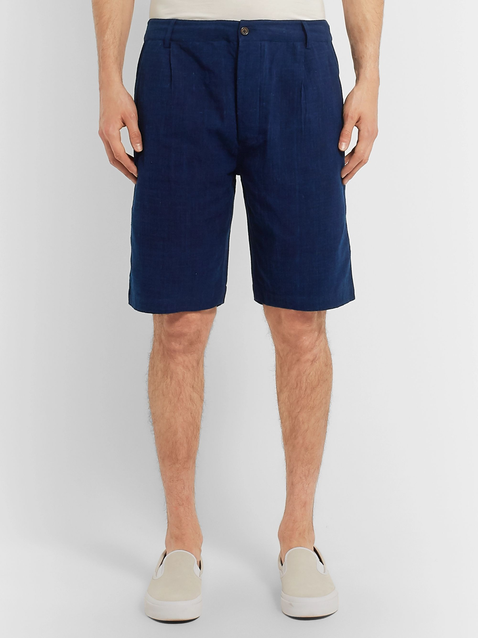 Universal Works Slub Cotton Shorts