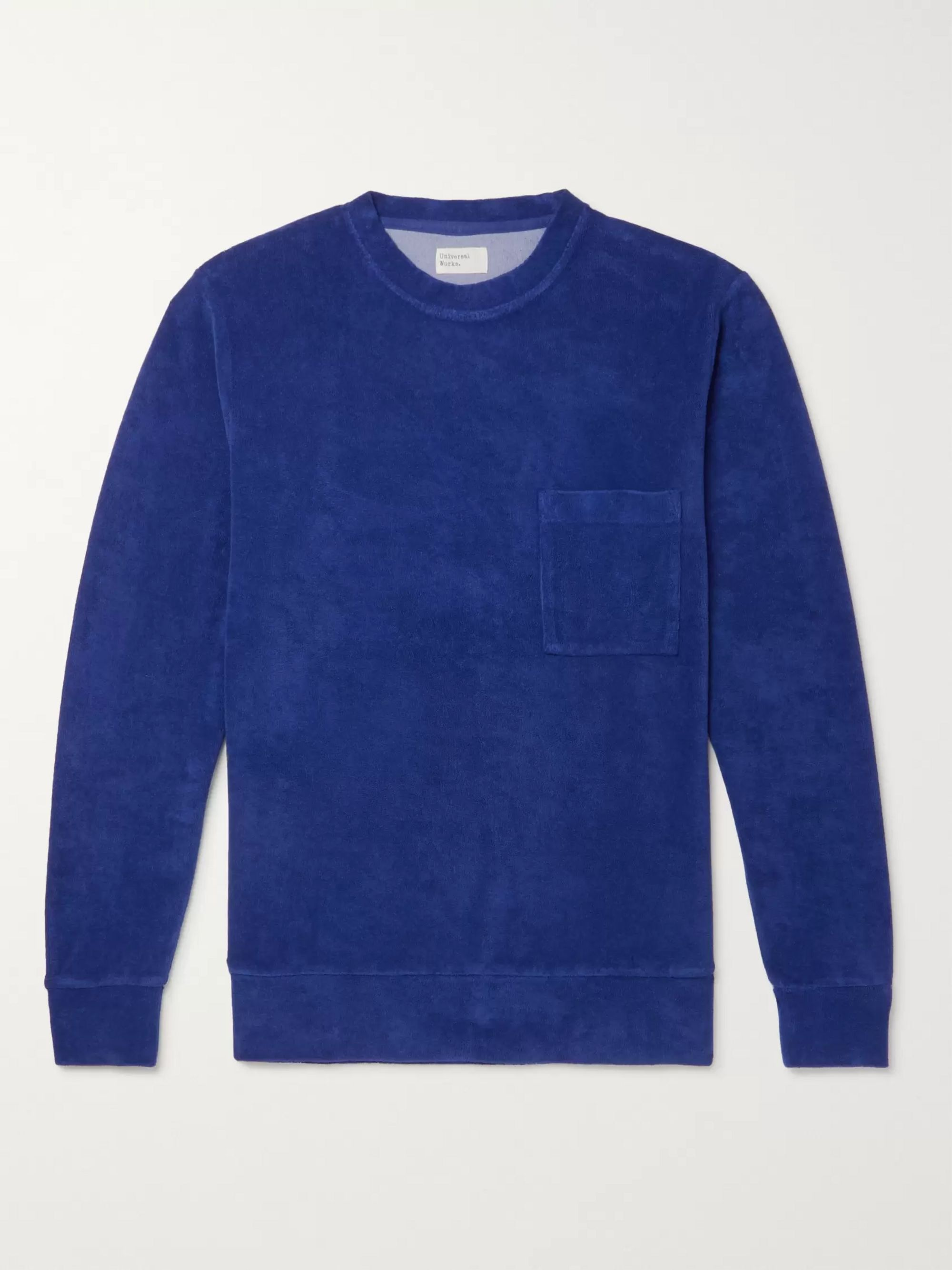 Universal Works Cotton-Blend Terry Sweatshirt
