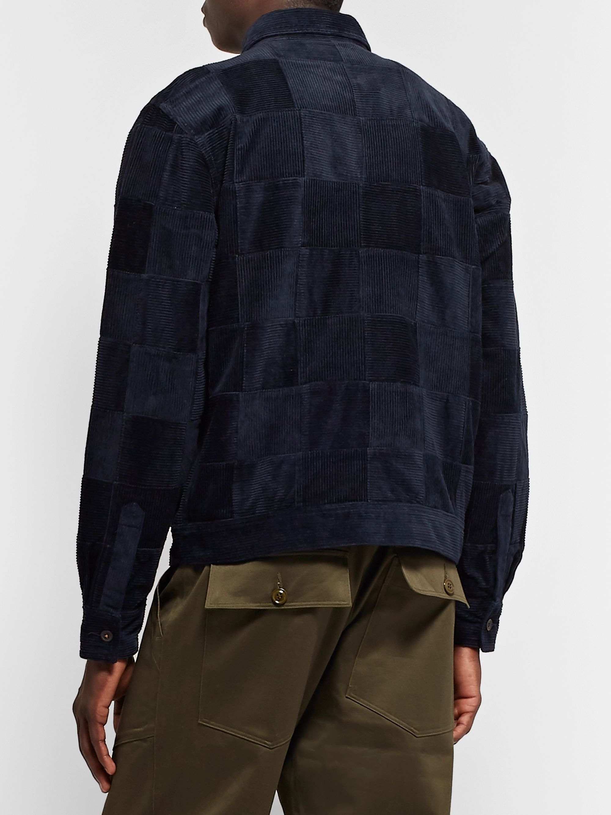 Universal Works Patchwork Cotton-Corduroy Jacket