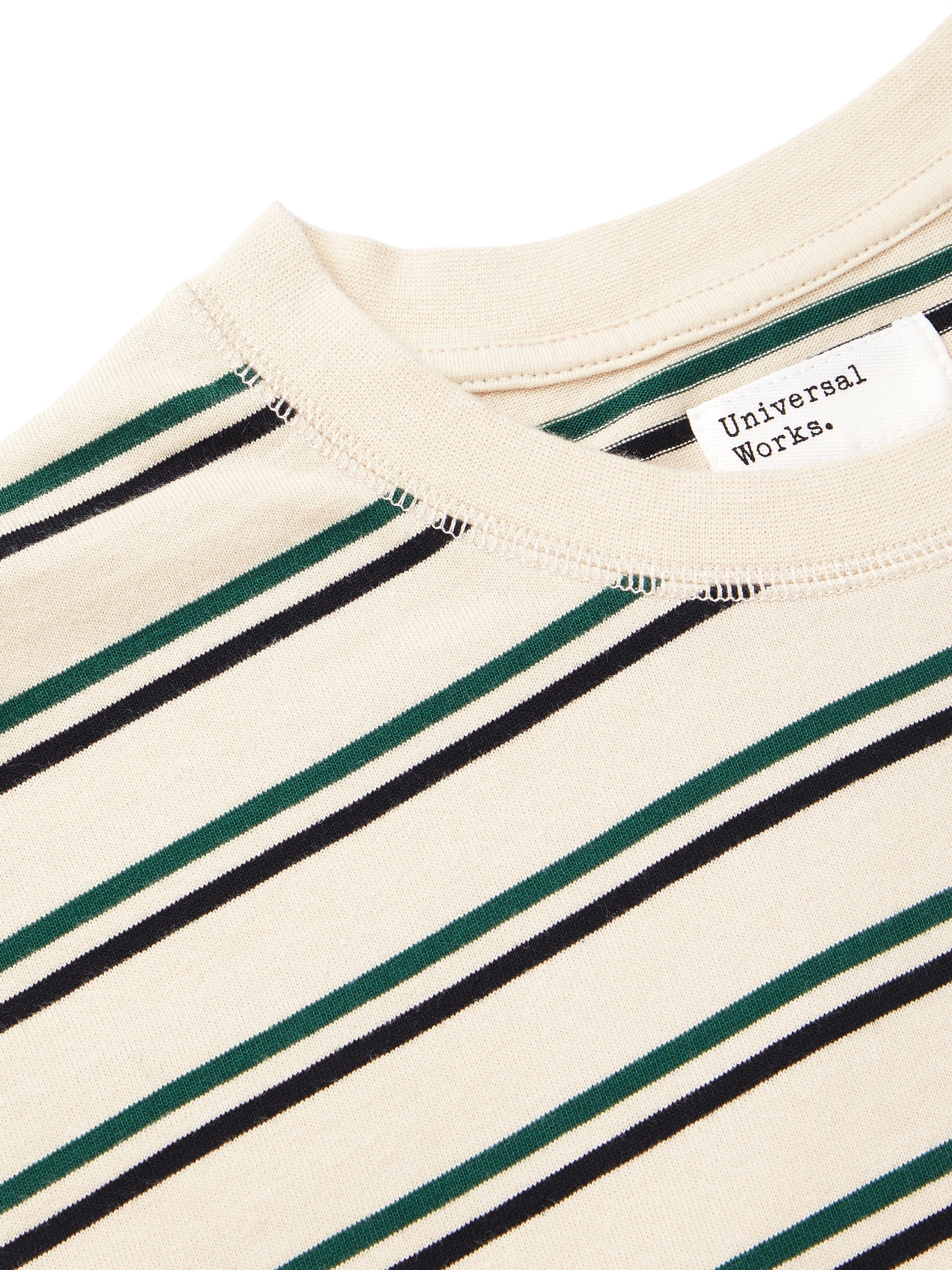 Universal Works Striped Cotton-Jersey T-Shirt