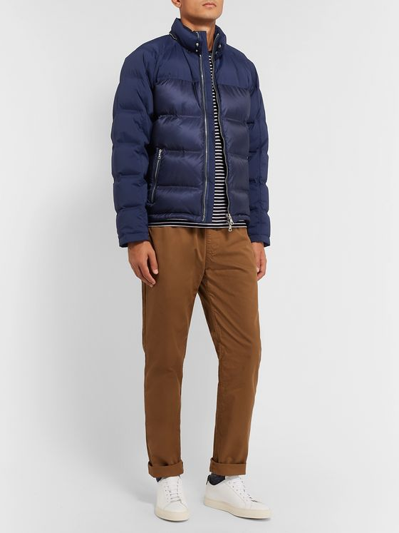 Orlebar Brown Quited Shell Hooded Down Jacket