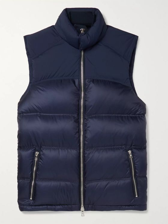 Orlebar Brown Issac Quilted Nylon-Blend Down Gilet