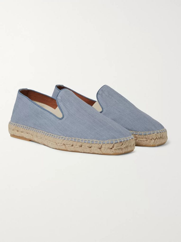 Orlebar Brown + 007 Thunderball Canvas Espadrilles