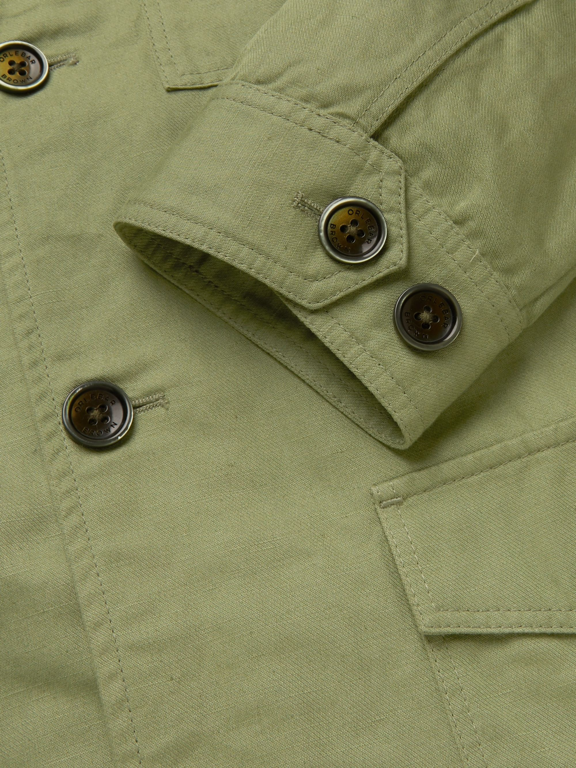 Orlebar Brown + 007 The Man with the Golden Gun Cotton and Linen-Blend Twill Jacket
