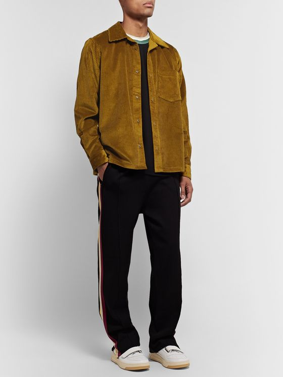 ACNE STUDIOS Camp-Collar Cotton-Corduroy Overshirt