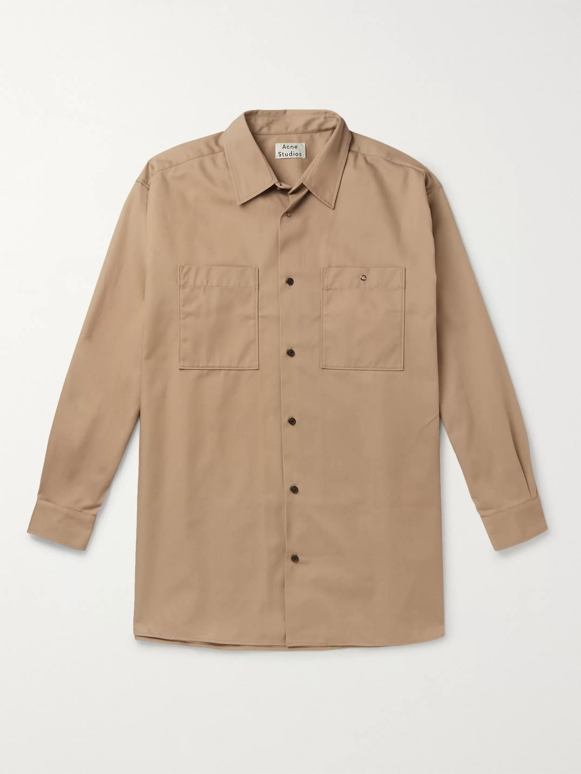 Sabino Oversized Twill Overshirt by Acne Studios