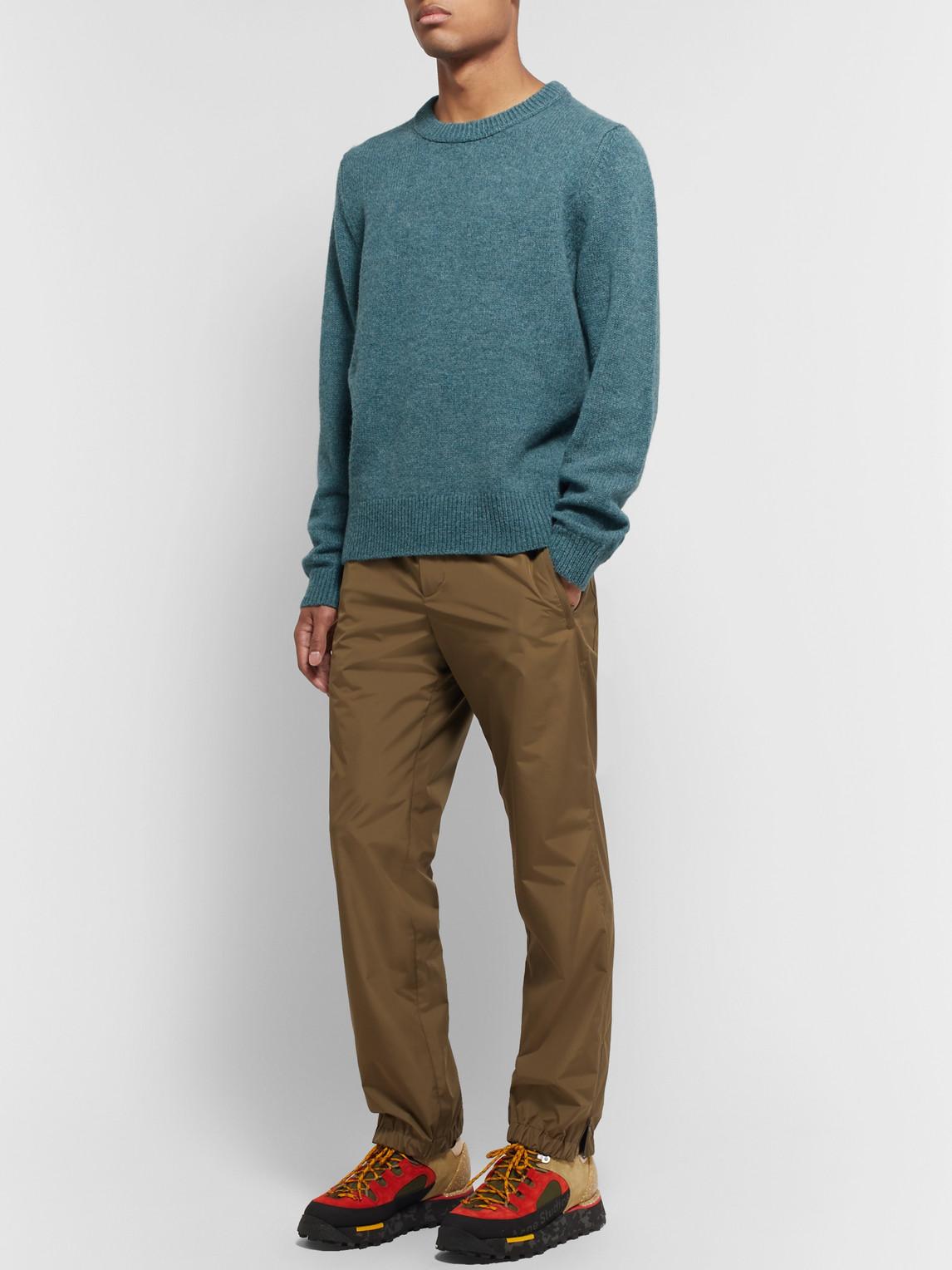 Acne Studios Sweaters KAI MÉLANGE WOOL SWEATER