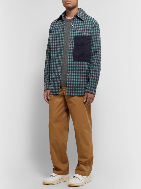 Acne Studios Stretch Wool and Nylon-Blend Sweater