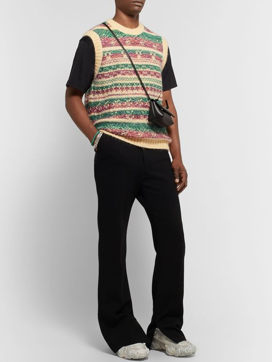 Acne Studios Slim-Fit Fair Isle Jacquard Sweater Vest