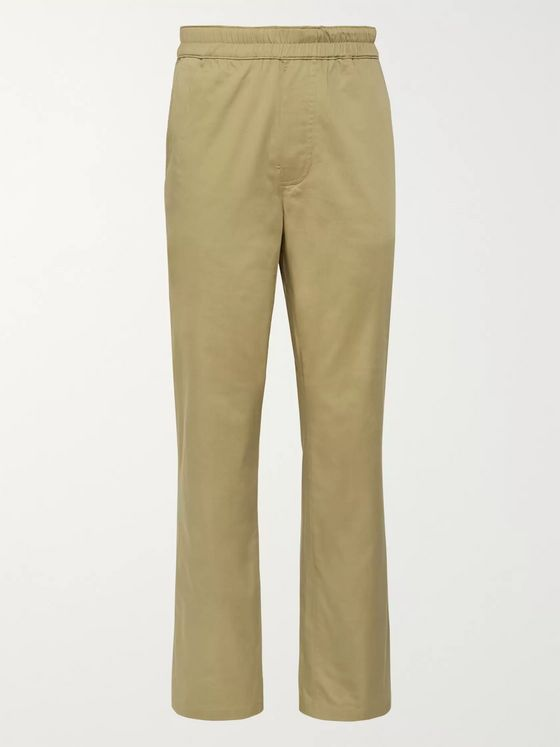 Acne Studios Cotton-Blend Trousers